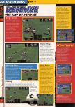 Scan of the walkthrough of International Superstar Soccer 64 published in the magazine 64 Solutions 03, page 7