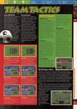 Scan of the walkthrough of International Superstar Soccer 64 published in the magazine 64 Solutions 03, page 8