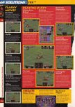 Scan of the walkthrough of International Superstar Soccer 64 published in the magazine 64 Solutions 03, page 9