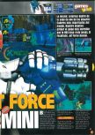 Scan of the preview of Jet Force Gemini published in the magazine Games World 01