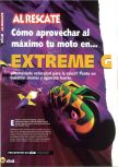 Scan of the walkthrough of Extreme-G published in the magazine Magazine 64 03, page 1