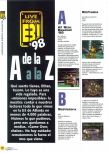 Scan of the article Live from E3 '98 de la A a la Z published in the magazine Magazine 64 08, page 1