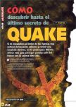 Scan of the walkthrough of Quake published in the magazine Magazine 64 08, page 1