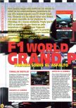 Scan of the preview of F-1 World Grand Prix published in the magazine Magazine 64 09, page 1