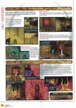 Scan of the walkthrough of Quake published in the magazine Magazine 64 09, page 7