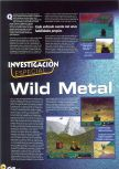 Scan of the preview of Wild Metal Country published in the magazine Magazine 64 10, page 1