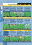 Scan of the walkthrough of International Superstar Soccer 98 published in the magazine Magazine 64 12, page 2