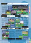 Scan of the walkthrough of International Superstar Soccer 98 published in the magazine Magazine 64 12, page 3