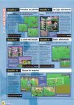 Scan of the walkthrough of International Superstar Soccer 98 published in the magazine Magazine 64 12, page 4