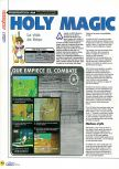 Scan of the review of Holy Magic Century published in the magazine Magazine 64 14, page 1