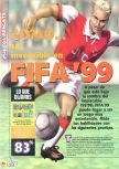 Scan of the walkthrough of FIFA 99 published in the magazine Magazine 64 18, page 1