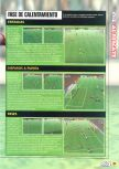 Scan of the walkthrough of FIFA 99 published in the magazine Magazine 64 18, page 2