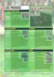 Scan of the walkthrough of FIFA 99 published in the magazine Magazine 64 18, page 3
