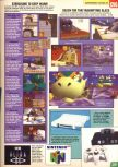 Scan of the preview of Super Mario 64 published in the magazine Computer and Video Games 171