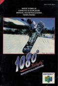 Scan of manual of 1080 Snowboarding