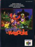 Scan of manual of Banjo-Kazooie