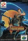 Scan of manual of Castlevania