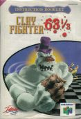 Scan of manual of ClayFighter 63 1/3