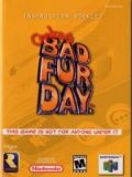 Scan of manual of Conker's Bad Fur Day