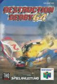 Scan of manual of Destruction Derby 64