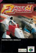 Scan de la notice de F1 Pole Position 64