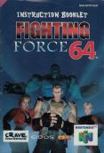Scan of manual of Fighting Force 64