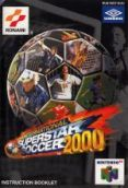 Scan of manual of International Superstar Soccer 2000