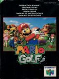 Scan of manual of Mario Golf