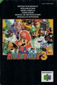 Scan of manual of Mario Party 3