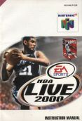 Scan of manual of NBA Live 2000
