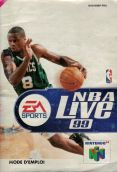 Scan of manual of NBA Live 99